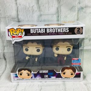 Funko POP BUTABI Brothers Vinyl Characters